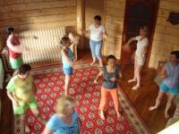 Танец по рисунку. Танцевально-двигательная терапия
