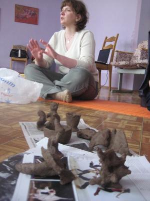 Славянские обряды. Работа с глиной